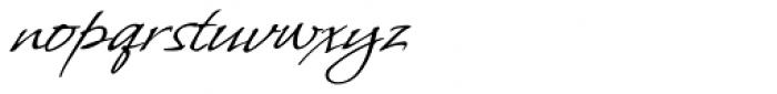Whisper ROB Font LOWERCASE