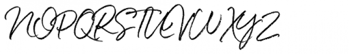 White Oleander Compact Font UPPERCASE