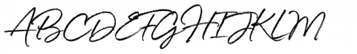 White Oleander Font UPPERCASE