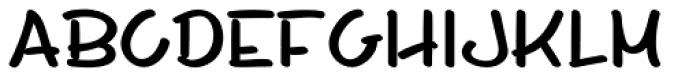 Whiteboard Modern Bold Font LOWERCASE