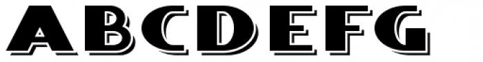 Whitehaven Engraved Font UPPERCASE