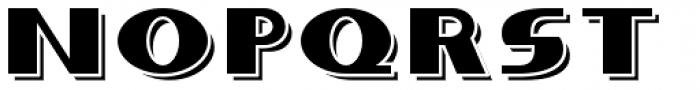 Whitehaven Engraved Font LOWERCASE