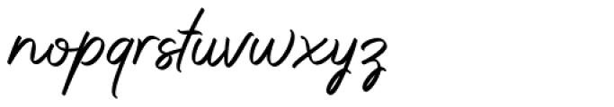 Whitelist Whitelist Font LOWERCASE