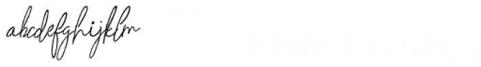 Whitley Alt 03 Font LOWERCASE