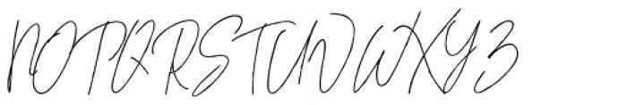 Whitley Alt 04 Font UPPERCASE