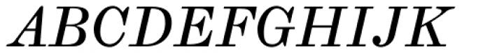 Whittington Italic Font UPPERCASE