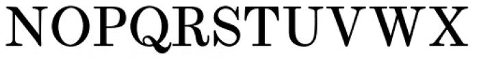 Whittington Regular Font UPPERCASE