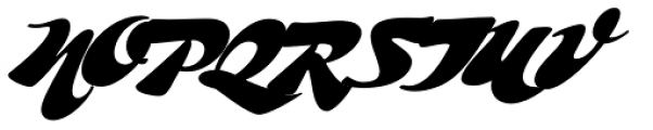 Whomp Font UPPERCASE
