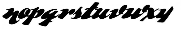 Whomp Font LOWERCASE
