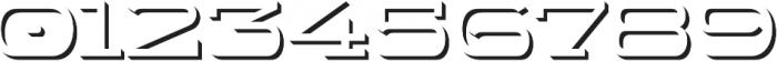 WideDisplay Bold Shadow otf (700) Font OTHER CHARS