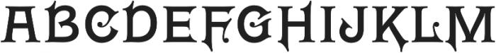 Wieldy otf (400) Font UPPERCASE