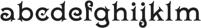 Wieldy otf (400) Font LOWERCASE