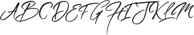 Wild Heart otf (400) Font UPPERCASE