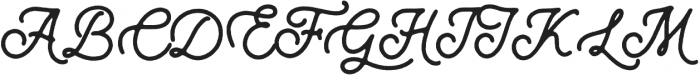 Wild Nebraska Script otf (400) Font UPPERCASE