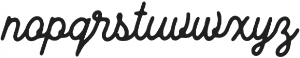 Wild Nebraska Script otf (400) Font LOWERCASE