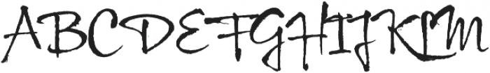 Wild Pen 5 otf (400) Font UPPERCASE