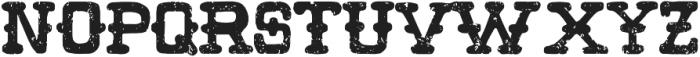 Wild Pitch otf (400) Font UPPERCASE
