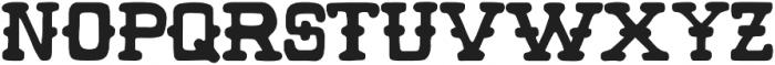 Wild Pitch otf (400) Font LOWERCASE