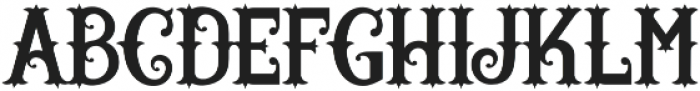 Wild Rover otf (400) Font LOWERCASE