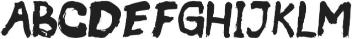 Wild Zova Sans otf (400) Font UPPERCASE