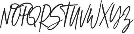 Wild and Rad otf (700) Font UPPERCASE