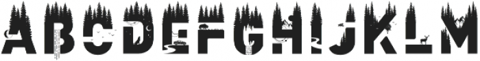 WildFont Regular otf (400) Font LOWERCASE