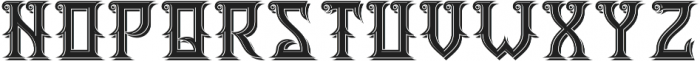 WildForest LightAndShadow otf (300) Font LOWERCASE