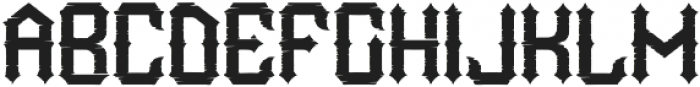 WildLand Rough otf (400) Font UPPERCASE