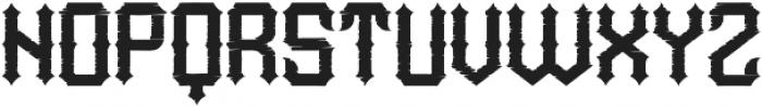 WildLand Rough otf (400) Font LOWERCASE