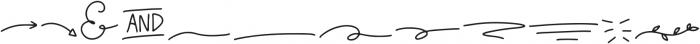 Wildflower Extras Regular otf (400) Font UPPERCASE
