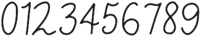 Wildflower Regular otf (400) Font OTHER CHARS