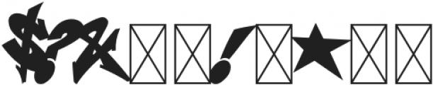 Wildstyler Fill Regular otf (400) Font OTHER CHARS