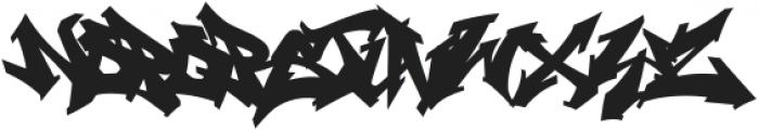 Wildstyler Fill Regular otf (400) Font UPPERCASE