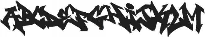 Wildstyler Fill Regular otf (400) Font LOWERCASE
