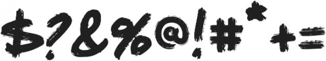 Wildwood Medium otf (500) Font OTHER CHARS