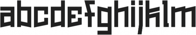 Wilhelm Regular otf (400) Font LOWERCASE