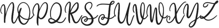 Willyast otf (400) Font UPPERCASE