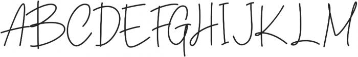 Winchester Regular otf (400) Font UPPERCASE