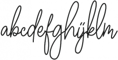 Winchester Regular otf (400) Font LOWERCASE