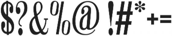 Winchester Regular ttf (400) Font OTHER CHARS