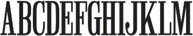 Winchester Regular ttf (400) Font UPPERCASE