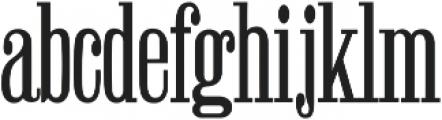 Winchester Regular ttf (400) Font LOWERCASE