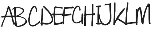 Winchester otf (400) Font UPPERCASE