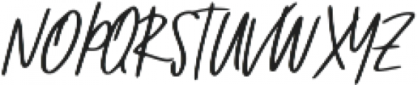 Wincior Regular ttf (400) Font UPPERCASE