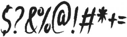 Windowsill otf (400) Font OTHER CHARS