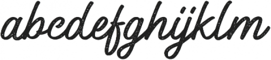Windtalker Rough otf (400) Font LOWERCASE