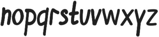 Winflo otf (400) Font LOWERCASE