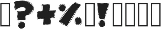 Wink otf (400) Font OTHER CHARS