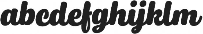 Winnie the Hoop Script otf (400) Font LOWERCASE