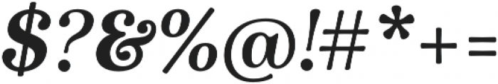 Winslow Book Bold Italic otf (400) Font OTHER CHARS